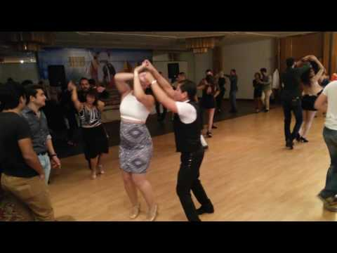Social Salsa dancing in Egypt