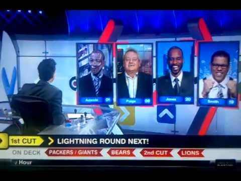 Adande - On 12-5-2011, Woody Paige, with things looking very grim for him on the final sequence of Buy or Sell, in one of the greatest moments of Around The Horn hist...