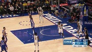3rd Quarter, One Box Video: Philadelphia 76ers vs. Denver Nuggets