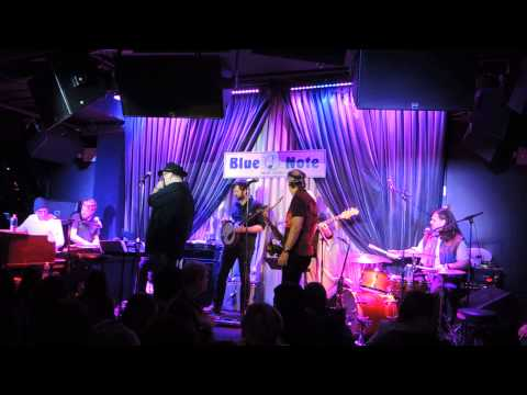 But Anyway, Bill Evans Soulgrass guests John Popper, Marco Benevento, Danny Louis, Blue Note 3/2/14