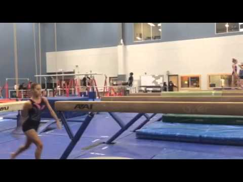 WATCH: Gymnast's New Beam Move Get's Her Name