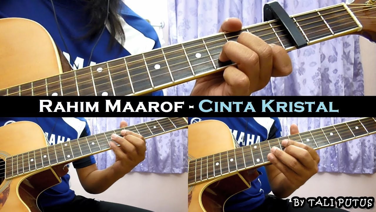 Rahim Maarof – Cinta Kristal (Instrumental/Full Acoustic/Guitar Cover)