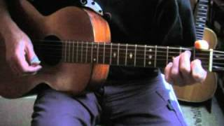 Blues in the Key of E Lesson - Acoustic Fingerpicking - 44 Blues Part 1/2