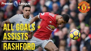Video Marcus Rashford | All the Premier League Goals + Assists | Manchester United MP3, 3GP, MP4, WEBM, AVI, FLV Agustus 2019