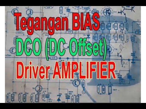 DCO DAN TEGANGAN BIAS DRIVER POWER AMPLIFIER