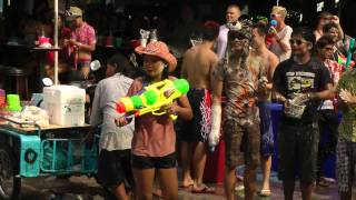 Water Festival Beach Road 2013 Pattaya Thailand