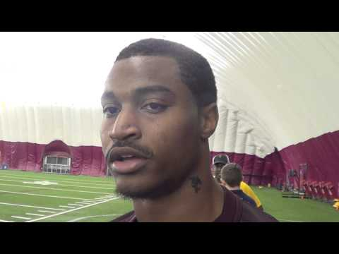 Jaelen Strong Interview 8/9/2013 video.