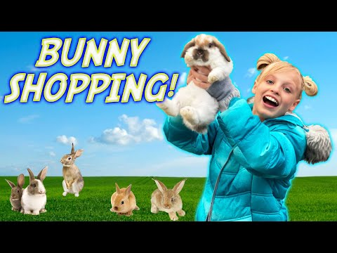 Payton goes BUNNY Shopping!
