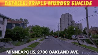 MORE DETAILS: Triple Murder-Suicide In Minneapolis