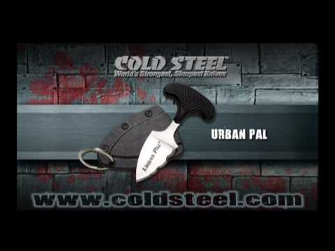 "Cold Steel Urban Pal Push Knife (1.5"" Satin Serr) 43LS"