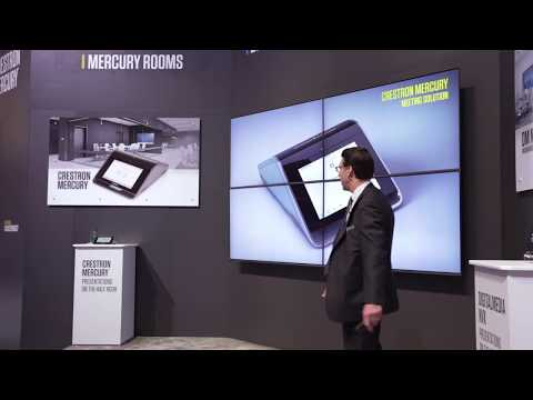Crestron Mercury™ – Game Changing Meeting Solution at InfoComm 2017