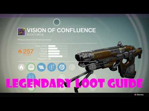 "Destiny Legendary Loot Guide – ""Vision of Confluence"" Full Auto Scout Rifle"