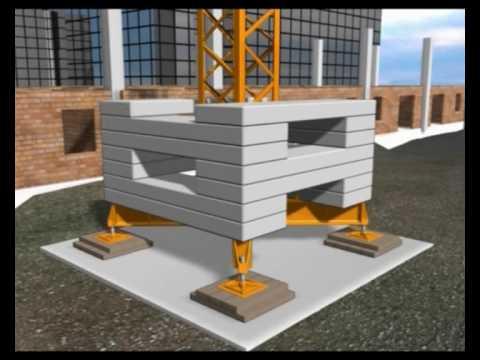 Crane build demonstration