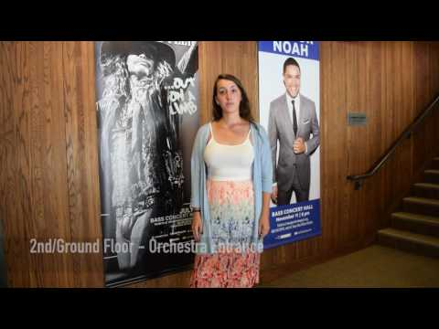 Bass Concert Hall Student Virtual Tour