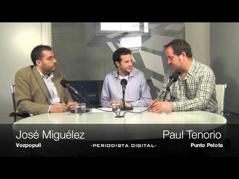 José Miguélez y Paul Tenorio. 'Tertulia de Champions'. 4-4-2013