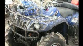 8. Yamaha bruin 350 4x4