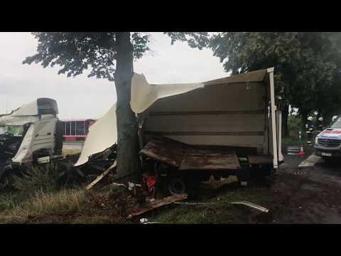Wideo1: Wypadek w Łoniewie