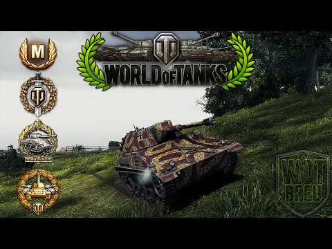 World Of Tanks - Spähpanzer SPIC - 9 Kills - 5k Damage - 2vs10 [Replay|HD]