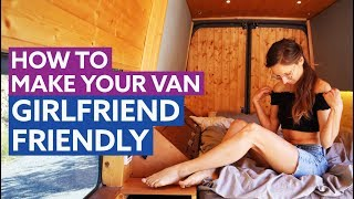 How To Build a GIRLFRIEND Friendly VAN CONVERSION 🤷♀️❤️👱🏻♀️ by Nate Murphy