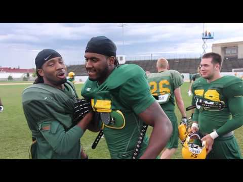 Marcus Williams Day in the Life - NDSU Fall Camp video.