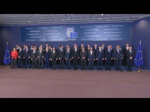 Πλάνα από την σύνοδο κορυφής