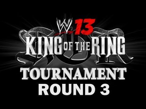 WWE 13 - WWE vs. WWF - King of the Ring Tournament - Round 3