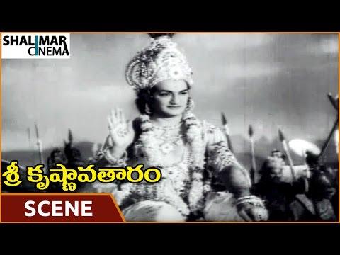 Video Sri Krishnavataram Movie || Pandavas Defeated Kauravas In War || NTR, Devika || Shalimarcinema download in MP3, 3GP, MP4, WEBM, AVI, FLV January 2017