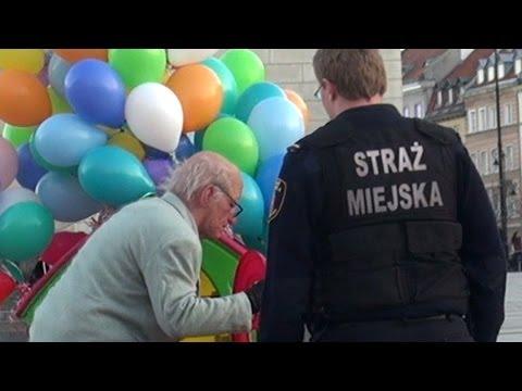 這位老爺爺究竟做了什麼引起警察恐慌?