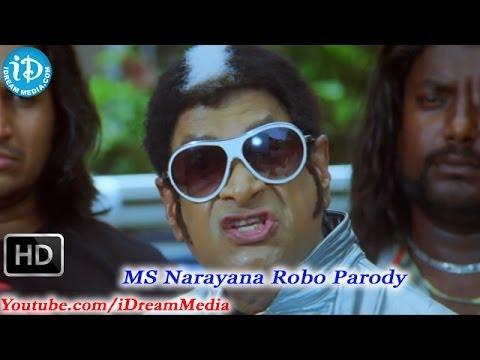 Video MS Narayana Robo Movie Parody Scene download in MP3, 3GP, MP4, WEBM, AVI, FLV January 2017