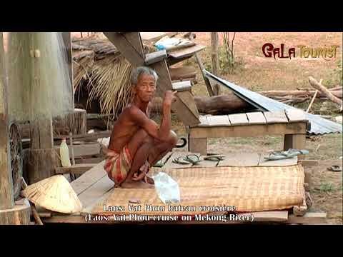 Vat Phou bateau croisière au Laos (Vat Phou boat cruise mekong - Galatourist)