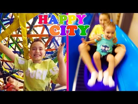 VLOG - FUN INDOOR à HAPPY CITY ! - Parc d'attraction couvert - 1/2