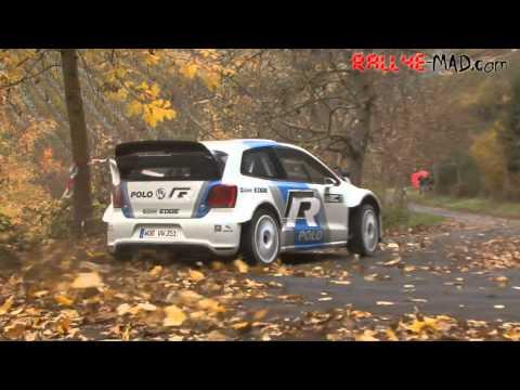 VW Polo R WRC Test – Day 2 / 2011 [HD]