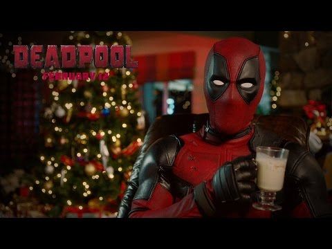 Deadpool Sips on Eggnog and Announces a  12 Days of Deadpool  Event Ending With a New Trailer on Christmas