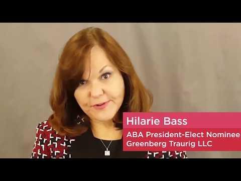 Women in the profession - American Bar Association |  Hilarie Bass