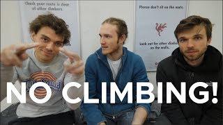 Us NOT climbing by Bouldering Bobat