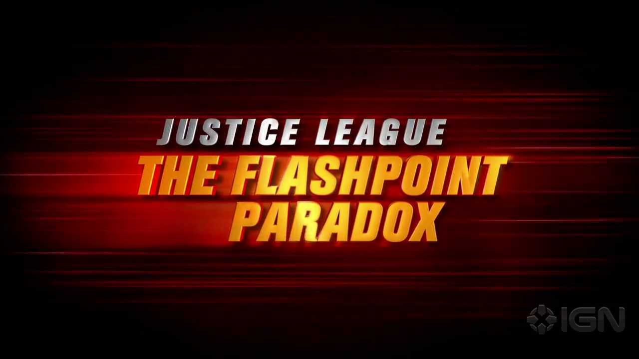 maxresdefault Justice League: The Flashpoint Paradox   Der Comic wird zum Cartoon