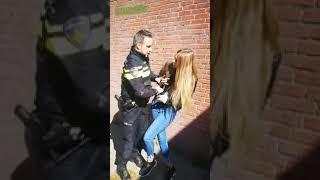 Myślała, że policjant nic jej nie może zrobić, ale grubo się pomyliła