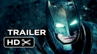 Batman v Superman: Dawn of Justice Official Teaser Trailer #1 (2016) - Ben Affleck Movie HD