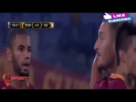 Roma vs Astra Giurgiu 4 - 0 ~All Goals & Highlights ~Europa League 29 09 2016