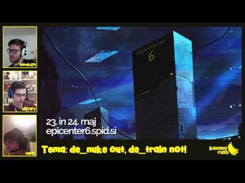Banana Rush Ep. 3 - Pogovorna oddaja na temo Counter Strike - SPID.si