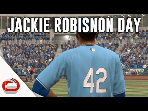 JACKIE ROBINSON DAY - Los Angeles Angels vs Kansas City Royals - MLB The Show 17 - Episode 5