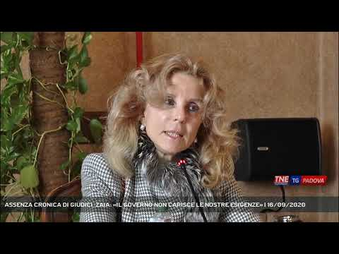 ASSENZA CRONICA DI GIUDICI, ZAIA: «IL GOVERNO NON CAPISCE LE NOSTRE ESIGENZE» | 16/09/2020