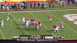 Aaron Murray vs Michigan State (2011)