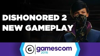 Dishonored 2 New Gameplay - The Clockwork Mansion by GameSpot