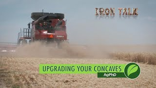Darren Hefty talks about harvest loss, and how you can reduce it by installing new concaves in your combine.