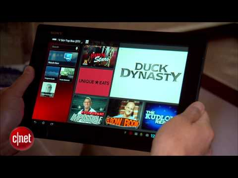 The Sony Xperia Tablet Z gets dunked in water