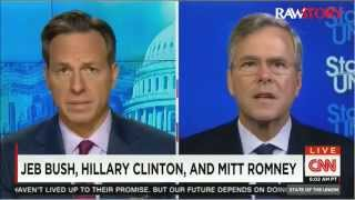 Jake Tapper calls out Jeb Bush for saying his brother is blameless for 9/11