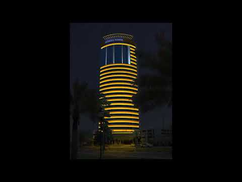 Kuwait Ahmad Tower - Aydınlatio   Mimari Aydınlatma Tasarımı
