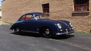 RARE Early 1954 Porsche 356 Pre A Coupe & Engine Start Up on My Car Story with Lou Costabile