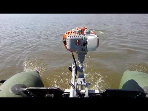 модернизация лодочного мотора карвер 3.8